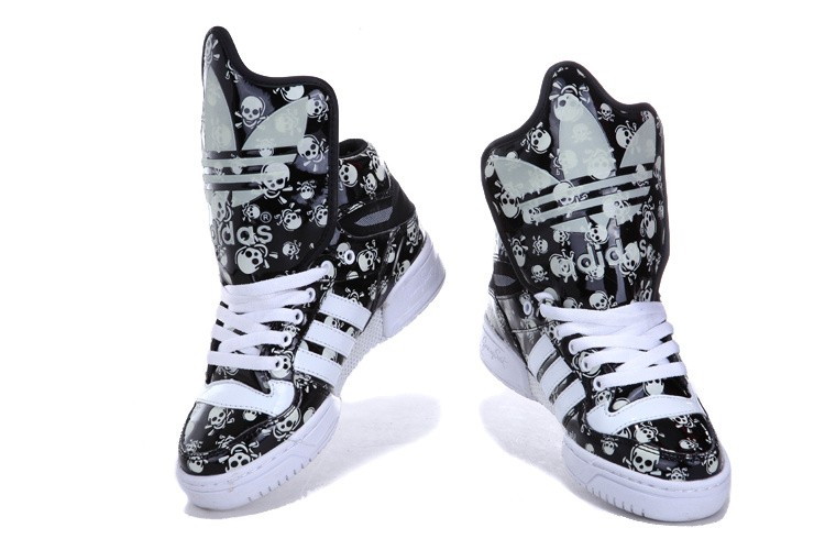 [OOf0DuB] 2013 Adidas Jeremy Scott Transparent star noctilucent Printing Big Tongue Pas Cher - [OOf0DuB] 2013 Adidas Jeremy Scott Transparent star noctilucent Printing Big Tongue Pas Cher-2